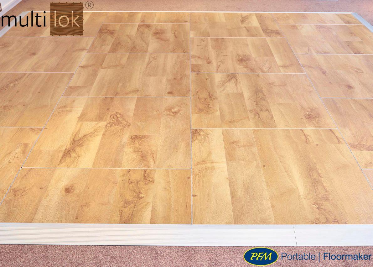 portable floor multilok