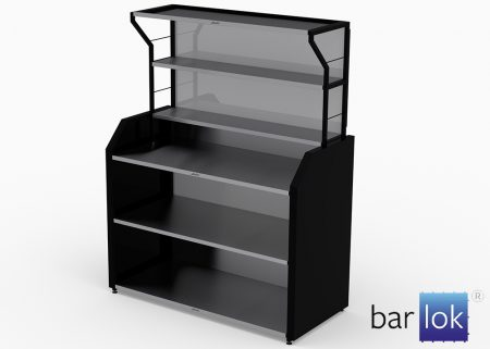 Portable Bar Barlok Back Bar pop-up
