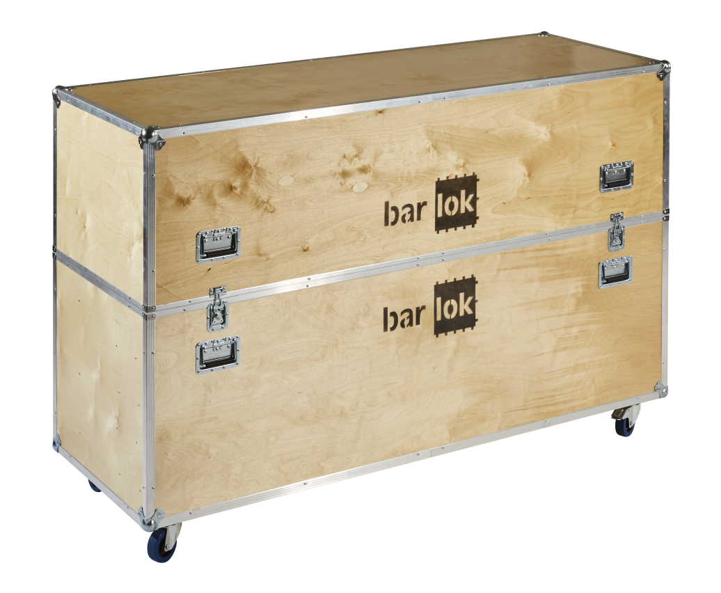 Barlok® Flight case x 3