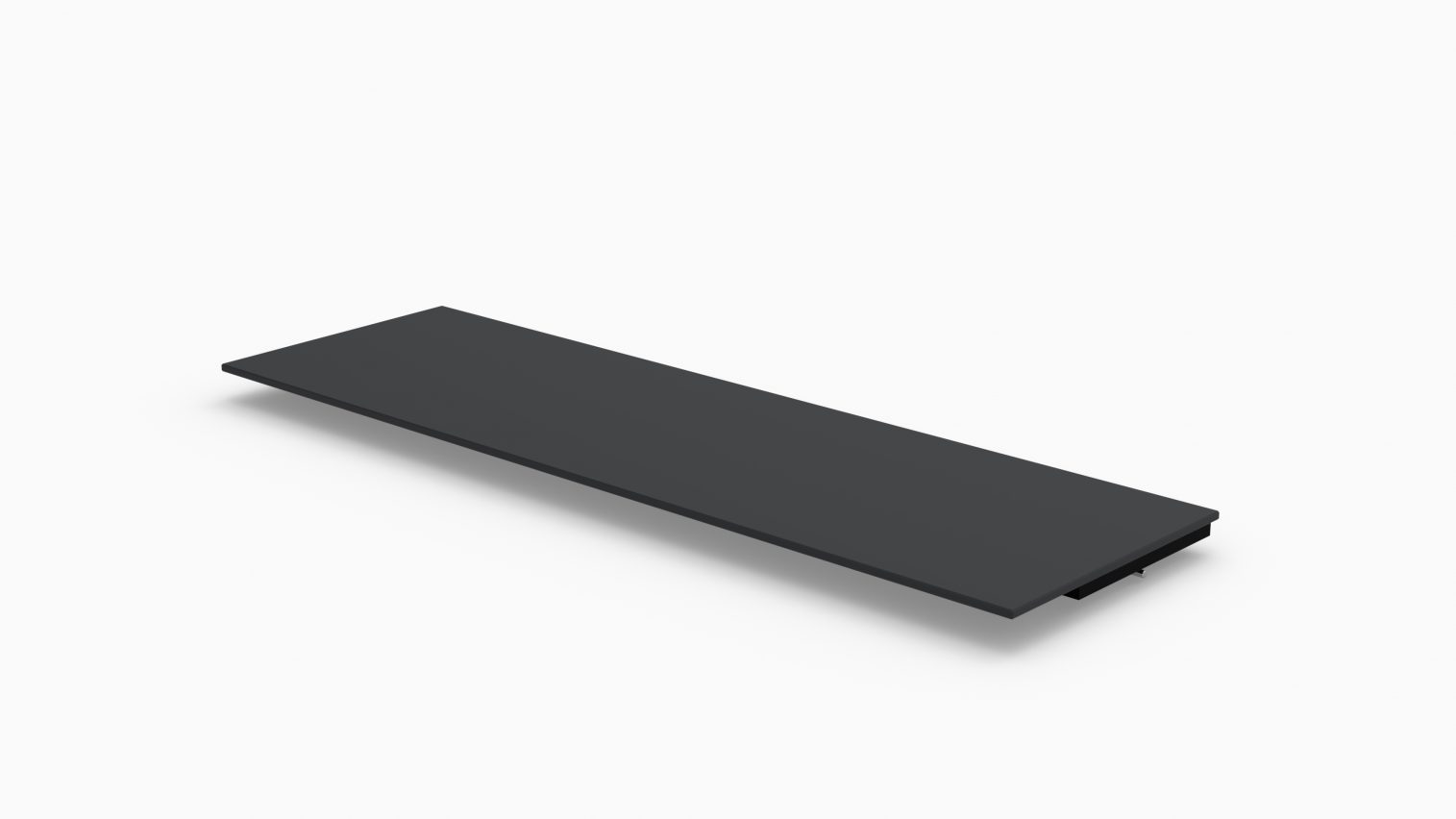 Barlok® 1.5m (5') Black Acrylic Bar Top x 1