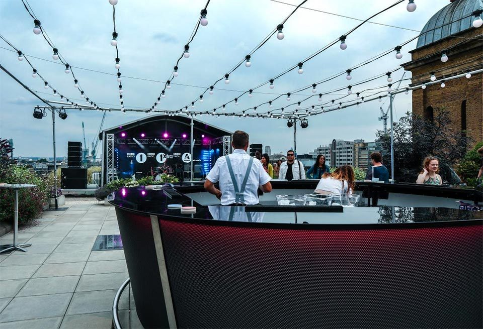 Barlok® Revolution Portable Bar at BBC Event